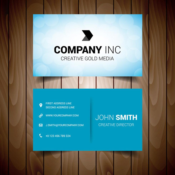 Corporate Business Cards Editable Template Free Download