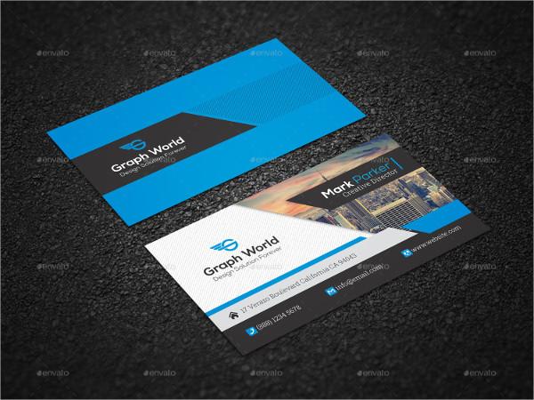 Corporate Design Business Card Template