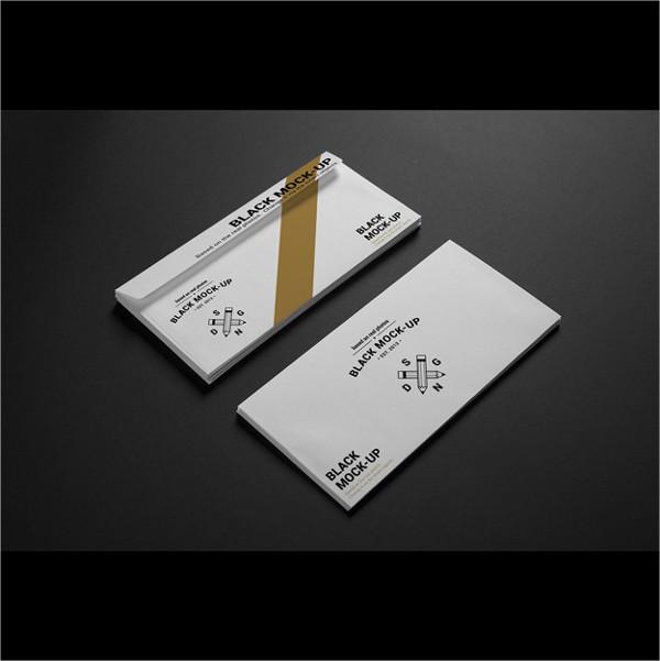 Corporate Envelope Mock-up Design Free Download