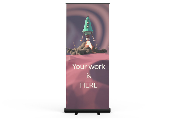 Customizable Banner Mock-up