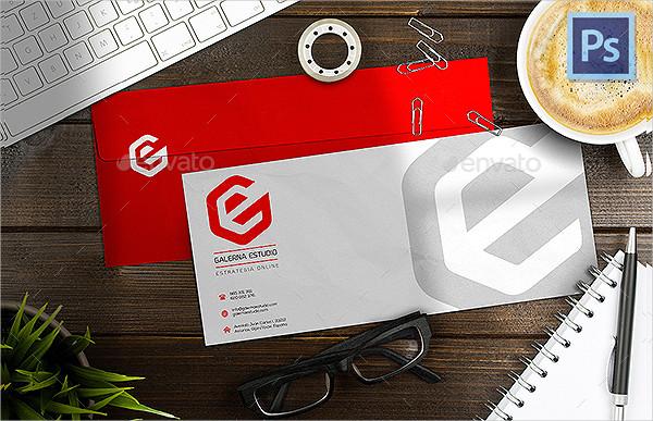Realistic Envelope Mockup PSD