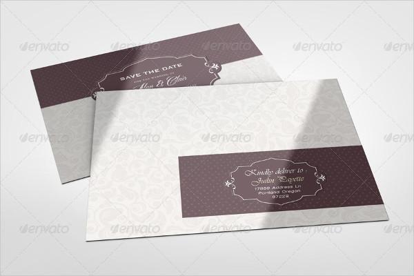 Professional Envelope Labels Mock-Up