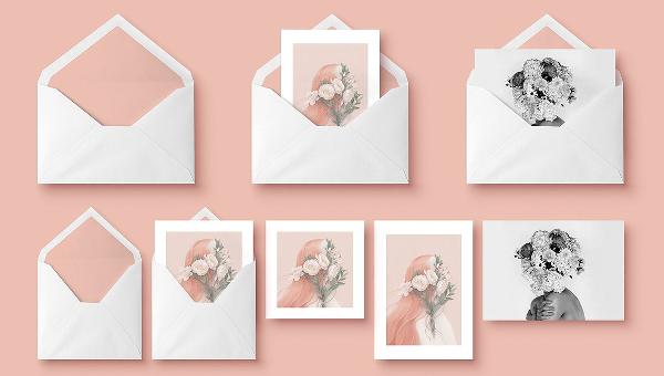 Envelope Mockup Templates