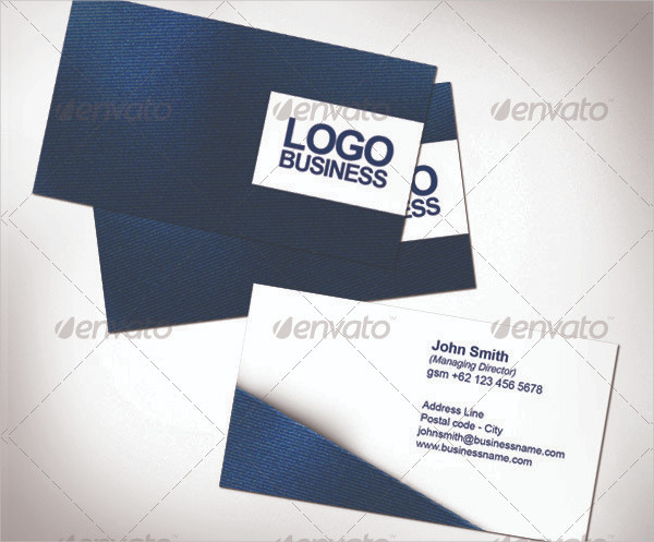 Fabric Name Card Templates