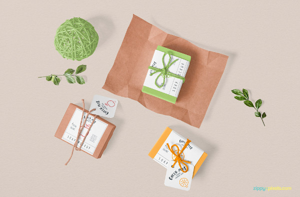 Free Craft Soap Mockup Download