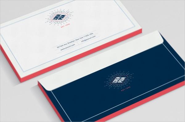 Free Download Business Envelope Mock-Up