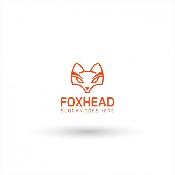 Free Fox Head Logo Template Download