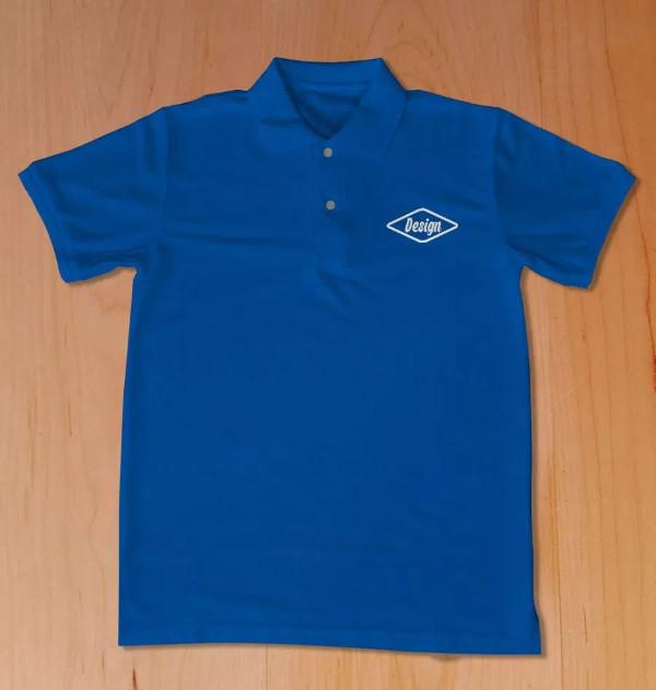 Free Polo Shirt PSD Mockup Download