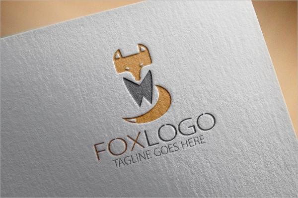 Fully Editable Fox Studios Logo Template
