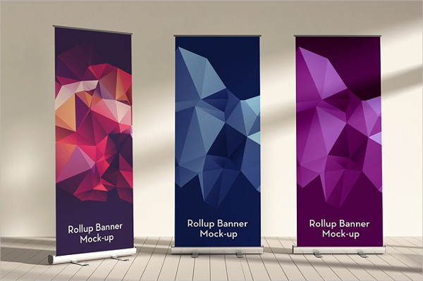 Fully Editable Rollup Banner Mock-Ups