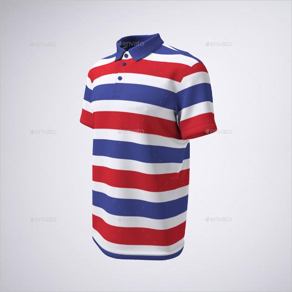 PSD Tennis or Golf Shirt Mock-Up