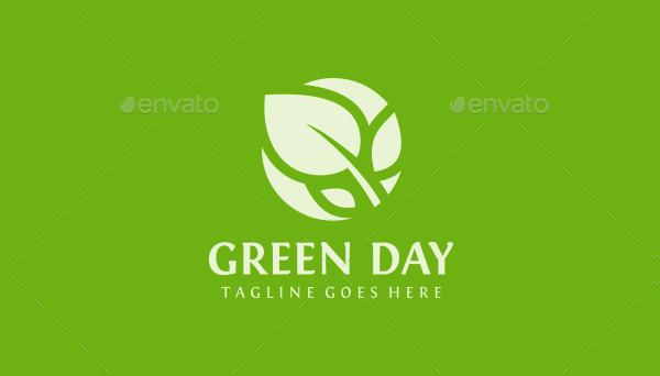 Custom Green Day Logo Template