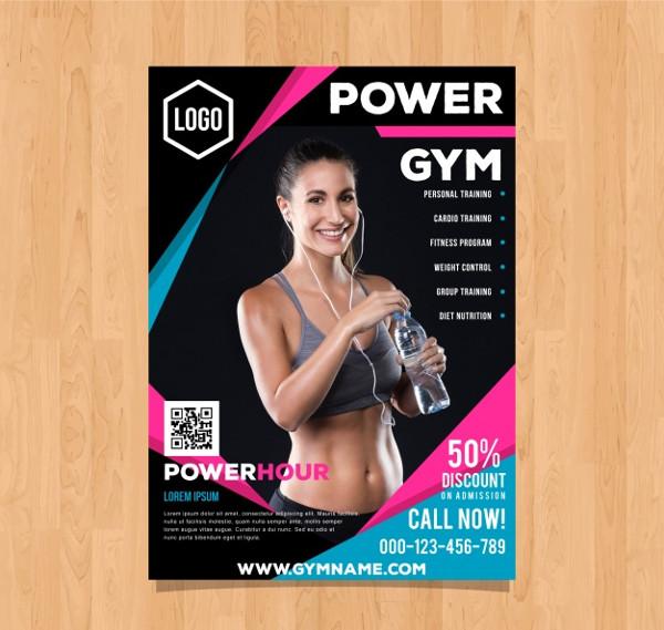 Gym Training Flyer Free Download