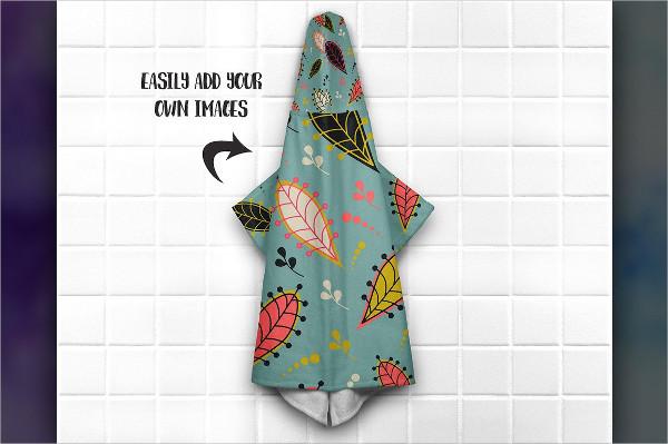 Famous Hooded Towel Mockup Bundle
