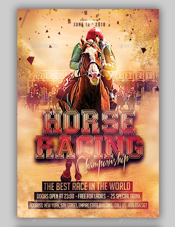 Best Horse Racing Flyers Bundle