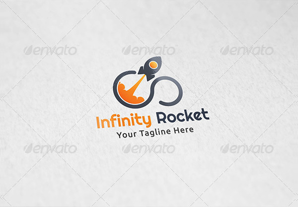 Infinity Rocket Multimedia Logo Template