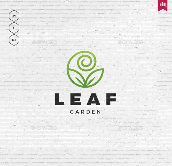 Leaf Garden Logo Template