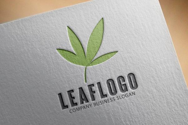 Leaf Vector Business Logo