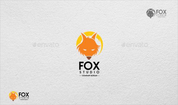 Luxury Fox Studio Logo Template