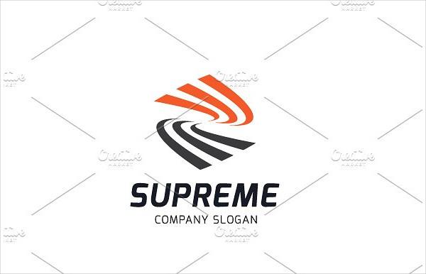 Luxury Supreme Box Logo Template