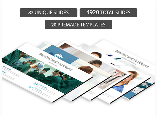 Attractive Medical PowerPoint Presentation Template