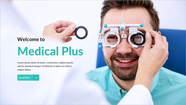 Medical Plus Powerpoint Template