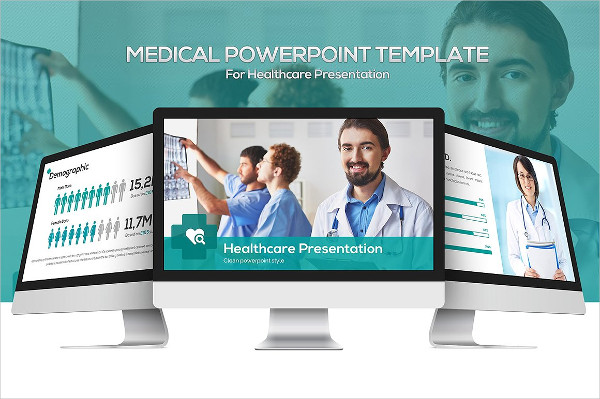 Medical Powerpoint Template for Healthcare Presentation