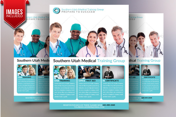 Medical Training Flyers Template