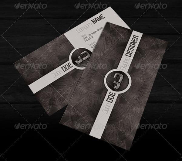 Metallic Print Business Cards