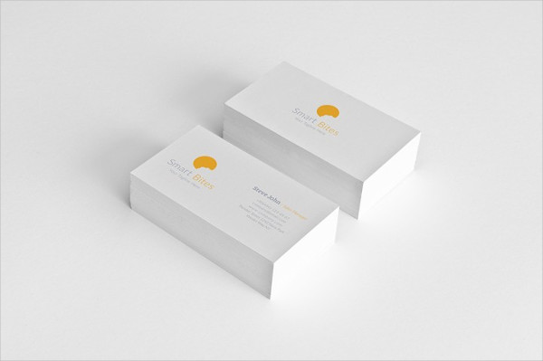 Minimal Grid Business Card for Personal Use