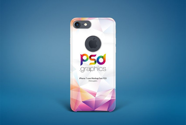 Mobile Cover Mockup PSD Free Download