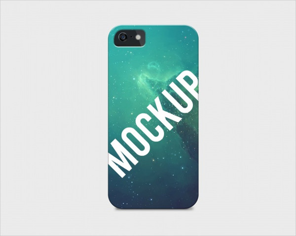 Free PSD Mobile Phone Case Mockup