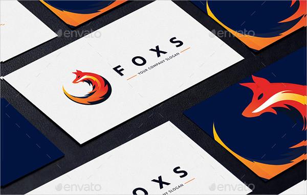Modern Fox Business Logo
