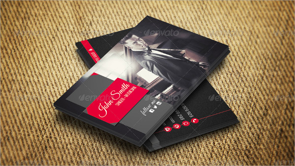 Modern Personal Business Cards Designs