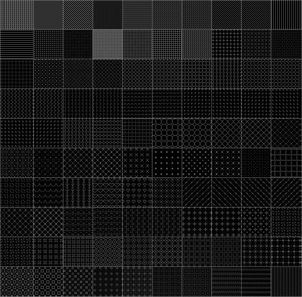 Modern Pixel Pattern Pack