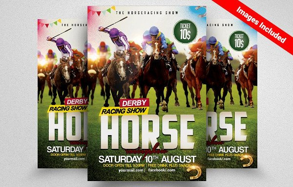Perfect Horse Racing Championship Flyer