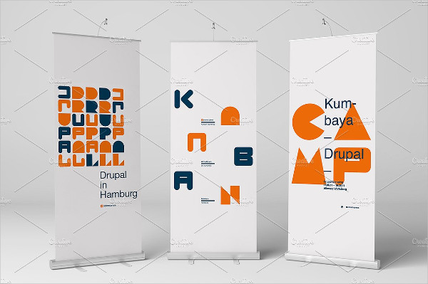 Perfect Roll-Up Banner Mock-Up Design