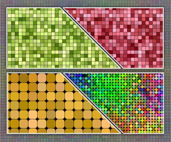 Pixels & Dots Patterns