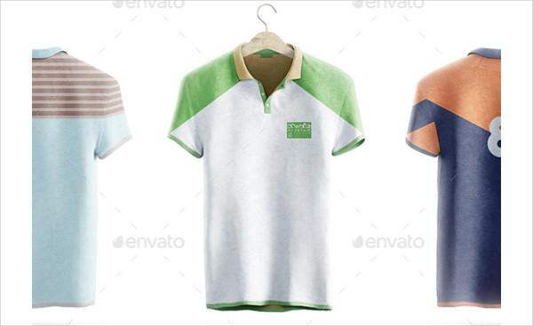Polo Shirt Animated Mockup Template