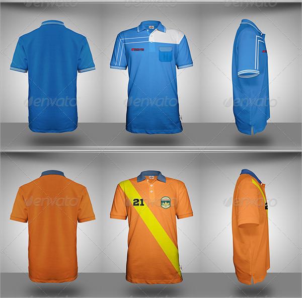 Amazing Polo Shirt Design Mock-Up