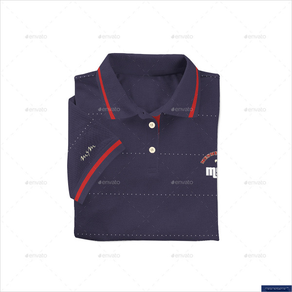 Clean Polo Shirt On Model Mockup