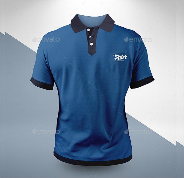 Famous Polo T-shirt Mockup Design