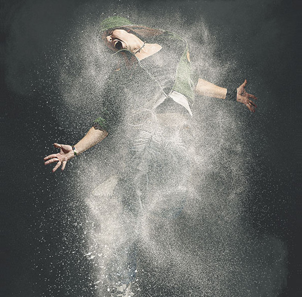 Powder Dust Realistic Photoshop Action