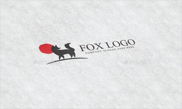Creative Fox World Logo Template