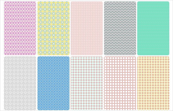 Retro Pixel Pattern Collection