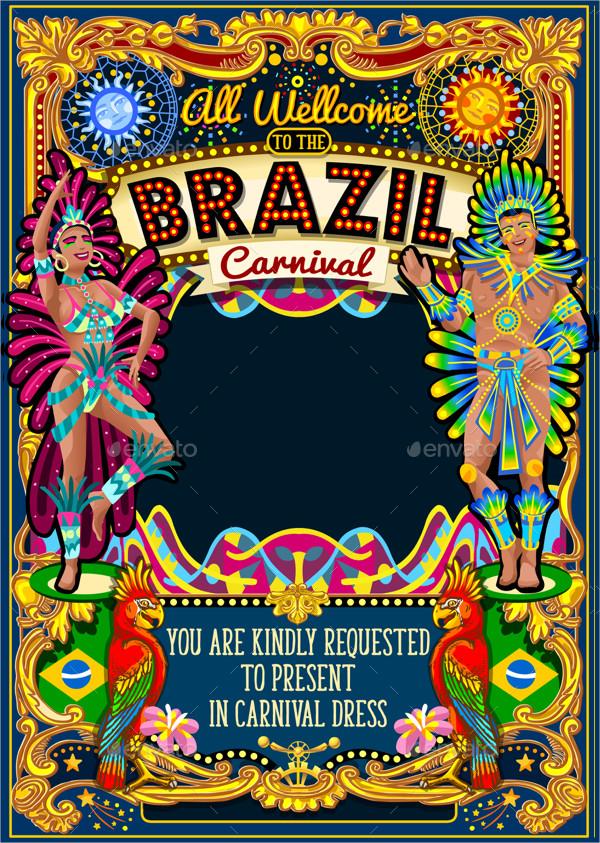 Rio Carnival Poster Template