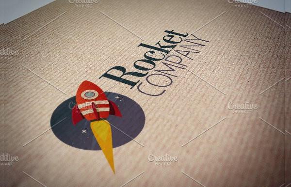 Rocket Company Logo Template