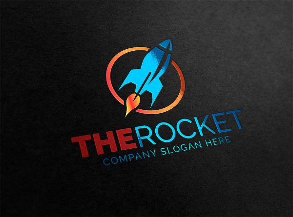 Rocket Fly Logo Design