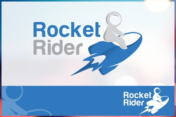 Rocket Rider Logo Template