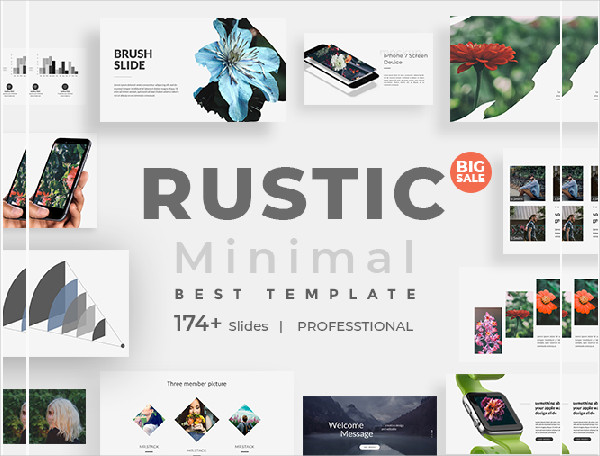 Rustic Creative Google Slide Template